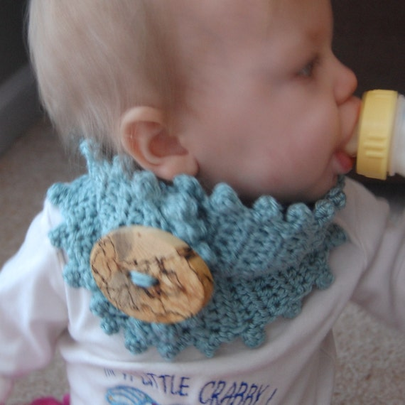 TWO PATTERNS crochet baby or toddler neck warmer any by ...