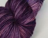 Velvet Slippers - Superwash Merino Sock Weight - 100g