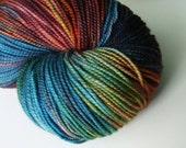 Edge of the World - Hand Dyed Merino Fingering Weight Yarn