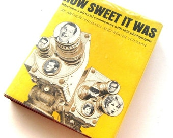 Vintage Book Television Shows How Sweet It Was Television Illustrated Pictorial Hardcover 1966