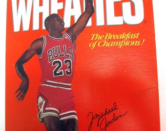 Vintage Michael Jordan Wheaties Box The Story Part 2 College Series 57 Mint Sealed 18 oz 1989