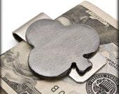 Club Money Clip by WATTO Distinctive Metal Wear- Gift for him, Groomsmen Gift, Wedding Gift