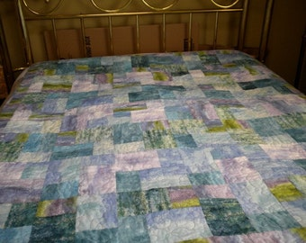 At the Beach --  Pastel  quilt