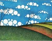 """Art Card      """"Summer Breeze"""""""
