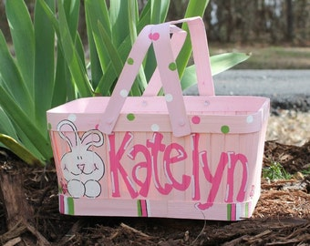 painted easter basket – Etsy