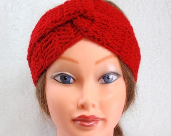 PDF - Pattern - easy to follow Turban- Headband -crochet