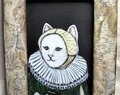 Portrait of a Dutch Cat - Original Painting
