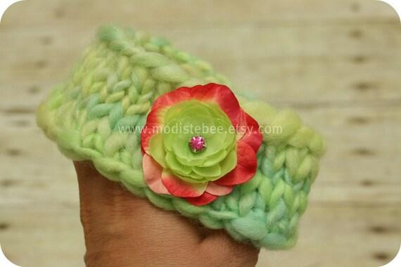 RTS Knit Headband newborn photography prop