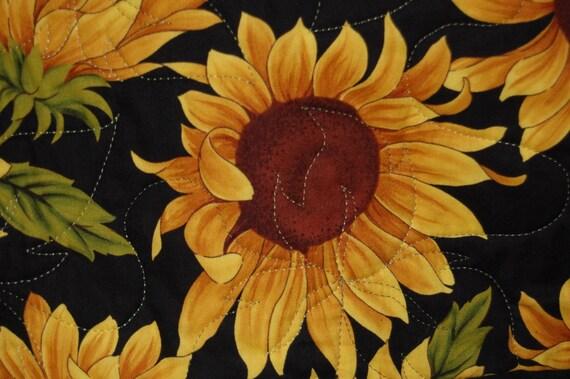 Tuscan Sunflower Full Size Quilt