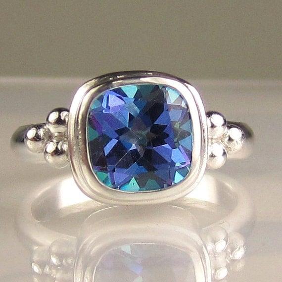 Mystic Topaz Ring in Sterling