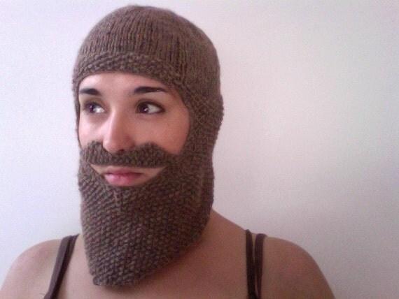 Knitted Beard Balaclava