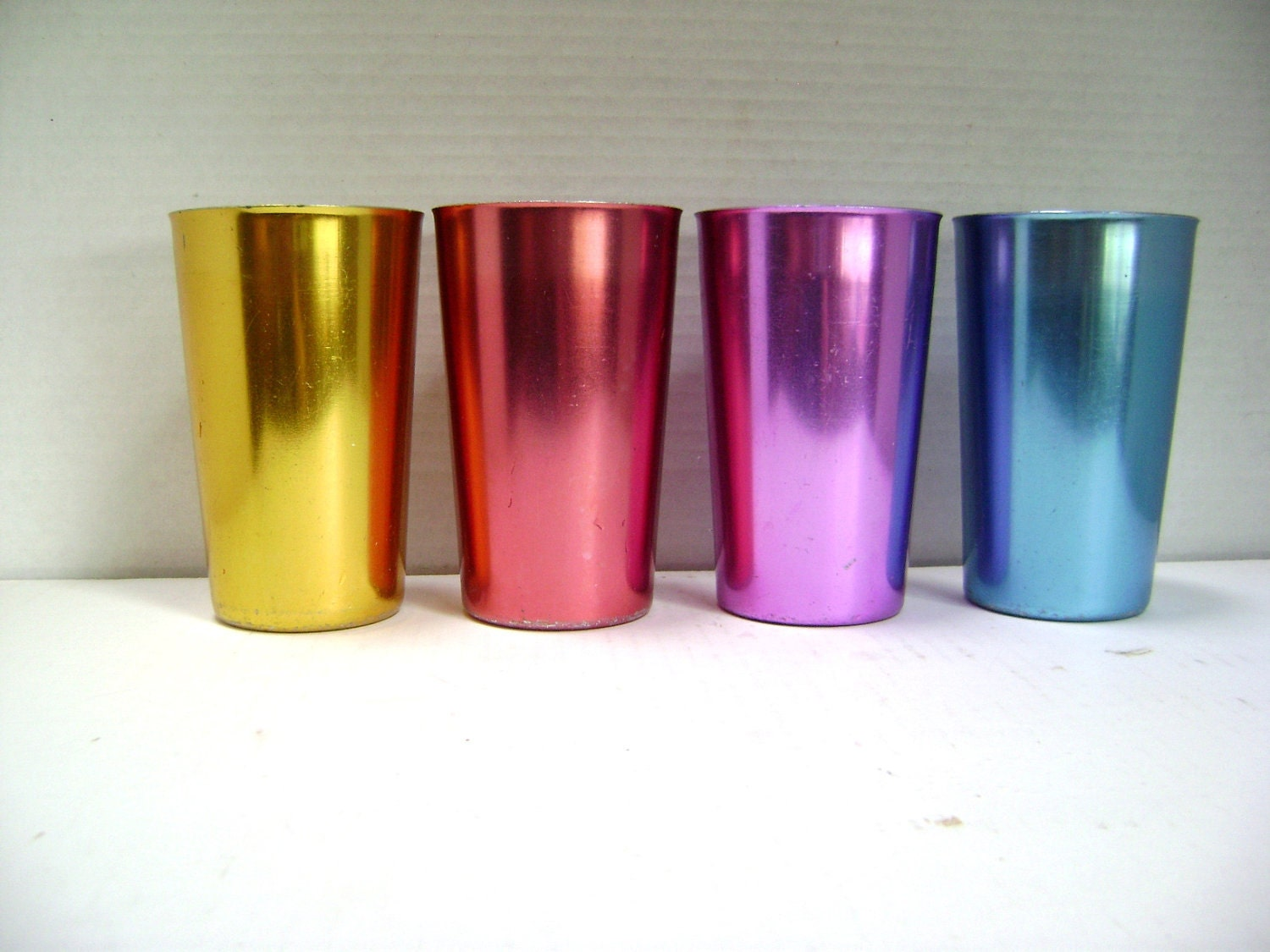 Aluminum Drinking Glasses