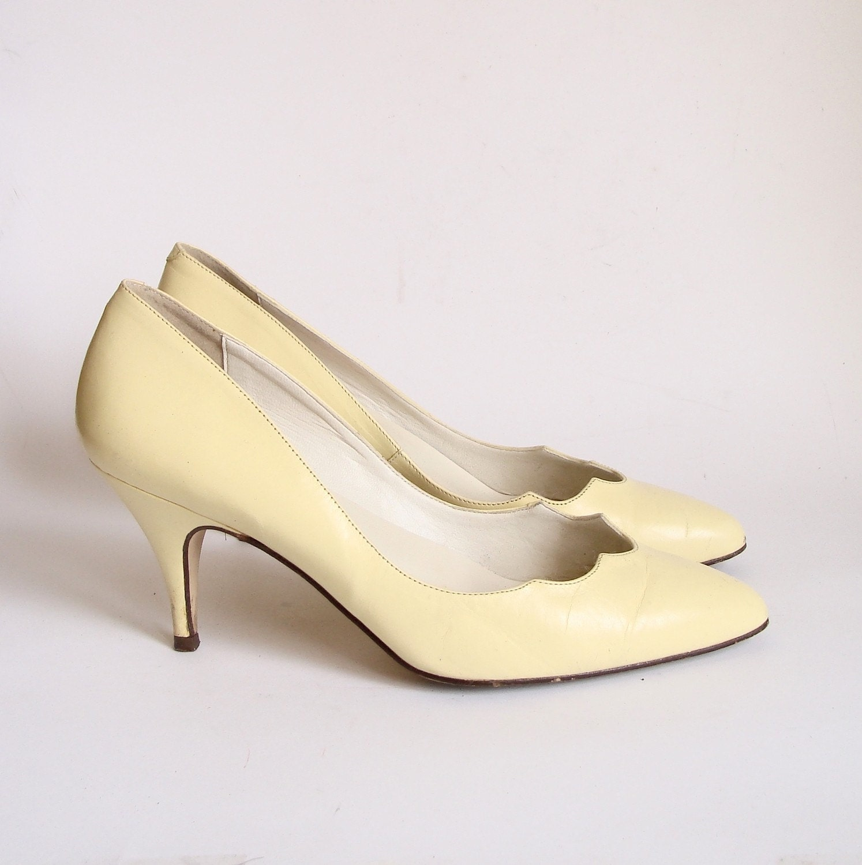 Pale Yellow Heels