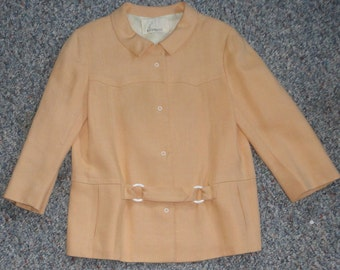 B.H. WRAGGE  Linen Jacket. 50's-60's Linen Jacket