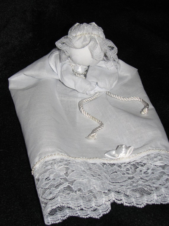 Hanky Baby, Prayer Doll, Pew Doll, Civil War reproduction cloth doll