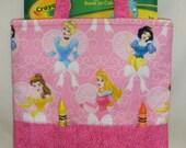 Disney Princesses Crayon Tote