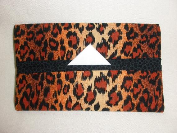 Leopard Tissue Cozy