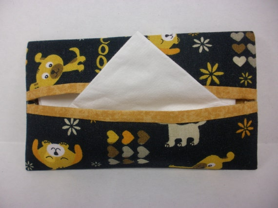 Woof Tissue Cozy/Gift Card Holder