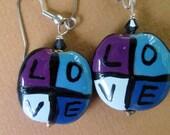 Love Earrings - Kazuri Beads