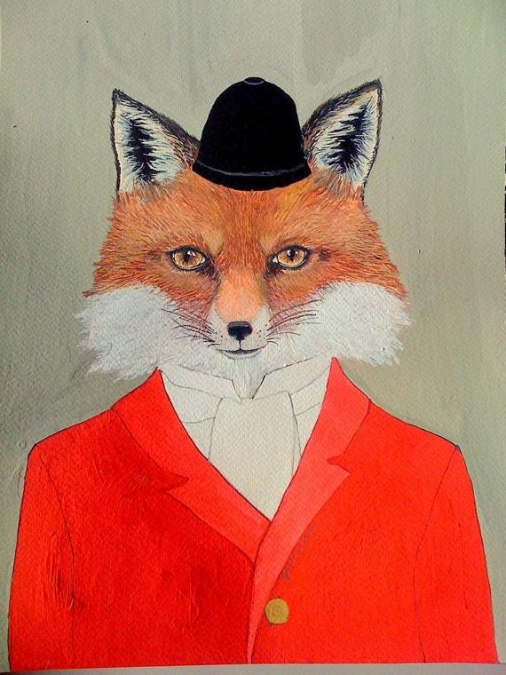 Giclee Print - Fox - 5 x 7