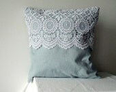 Very sweet lace pillow