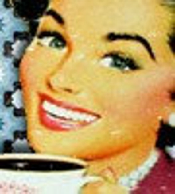Morning Coffee Etsy Shop Banner\/One Of A Kind (Never Resold) OOAK