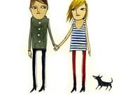 couple (A5 print)