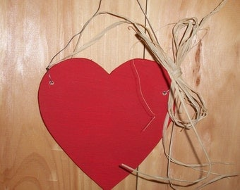 Painted Heart wall hanging
