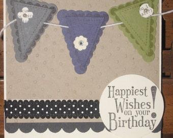 birthday set of 4 cards