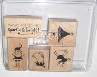Stampin Up Sparky & Bright Stamp Set