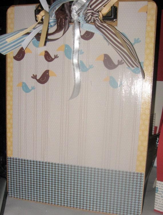 Decorative Clip Board