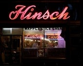 Hinsch's Confectionery (13x19 Limited Ed. Photo Print of Beautiful Vintage Brooklyn Neon Sign)