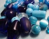 DOLLAR DEALS - Lot of Blue Beads