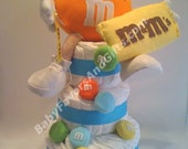 Whimsical Design Diaper Cakes many colors and styles for memorable Baby Shower
