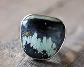 Overgrown Ring American Turquoise
