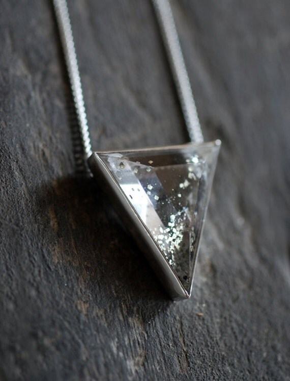 Speckled Gold Pendant-Reserved for Violasthings