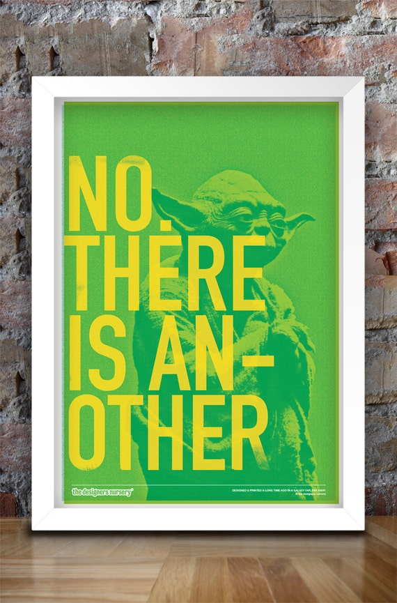 Star Wars Inspired Print (Heroes Series: YODA) A3