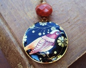 Long Necklace with Photo Locket