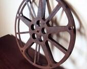 Vintage Film Reel with Industrial Look