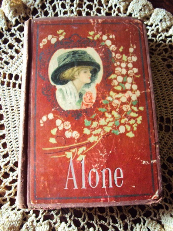 Antique Book Victorian Early 1900s