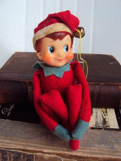 Old Fashioned Elf On The Shelf