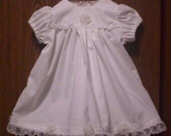 Preemie & Newborn Christening Baptism Gown