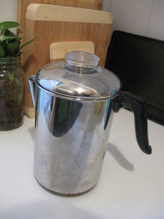 Revere Ware Stovetop Coffee Percolator