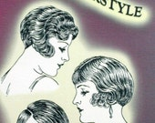 Downton Abbey Mary's New Style 1920s Cutting the Flapper Bob Bobbed Hairstyles 20s Dress