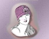 1920s Flapper Cloche Hat PDF Instructional Pattern