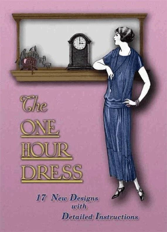 1920s Make a FLAPPER Dress in ONE HOUR Book