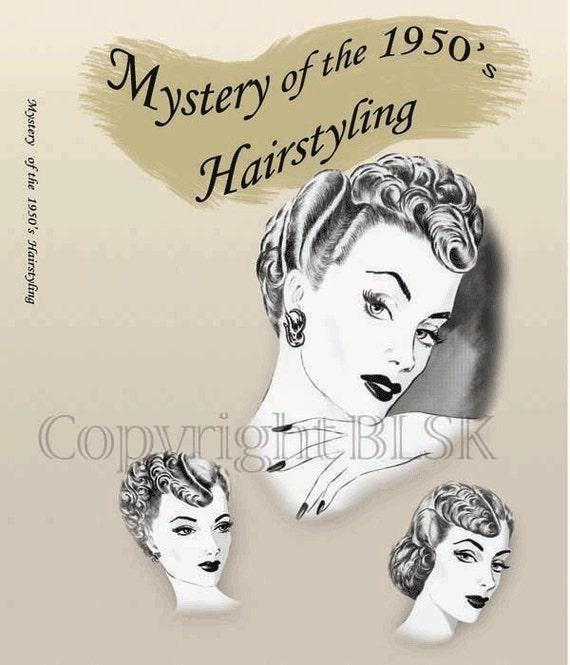 1950s Hairstyles Glam Hair Marilyn Monroe Atomic Era Mid-Century