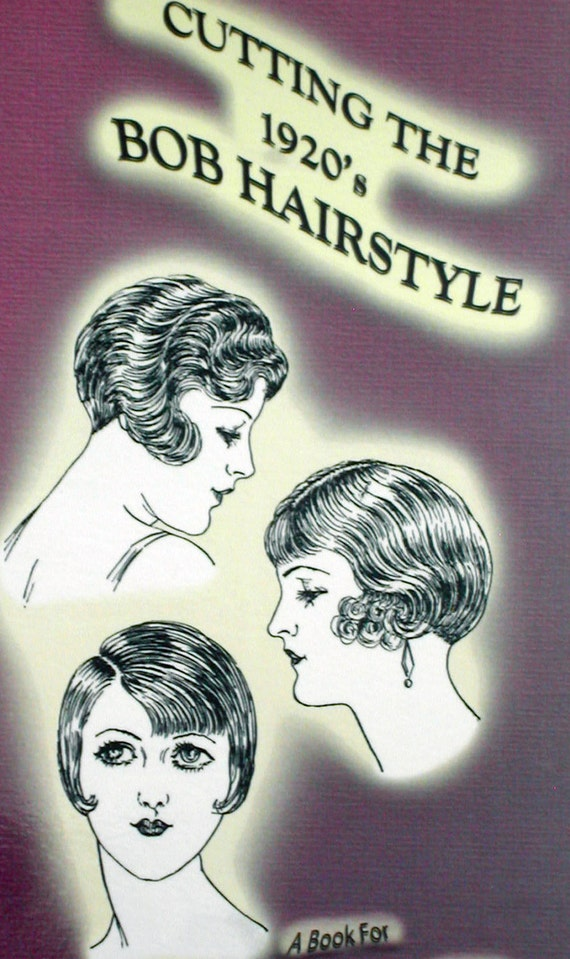 1920s Cutting The Flapper Bob Bobbed Hairstyles Downton Abbey