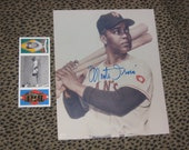 Monford Merill MONTE IRVIN Negro League Baseball Autographed Picture