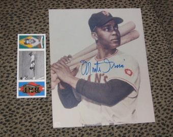 Monford Merill MONTE IRVIN Negro League Baseball Autographed Picture